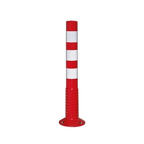 Afsluiting/palen flexibele geleidingscilinder ComeBack 76, eendelig, 360 graden kantelbaar, met geïntegreerde voet voor oppluggen, hoogte: 75,0 cm, diameter. Voet: 20,0 cm.