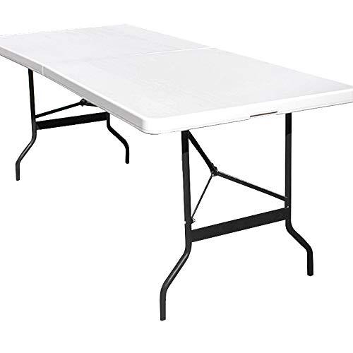 Monzana Table de Camping 76x183cm Pliante...