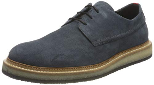 HUGO Herren Kiren_Derb_sdws Derby, Medium Grey30, 44 EU