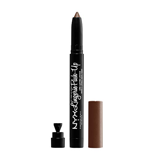 NYX PROFESSIONAL MAKEUP Lip Lingerie Push-Up Long Lasting Lipstick - After Hours, Warm Brown Nude