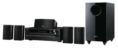 Onkyo HT-S3505 5.1 Heimkinosystem (HD-Audio, 3D Ready, 4x HDMI, 100 W/Kanal) schwarz