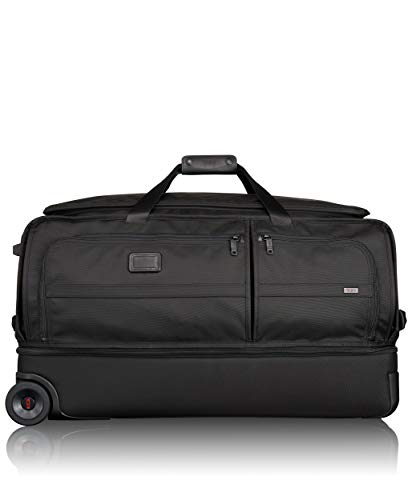 Tumi Alpha 2 Large Wheeled Split Duffel 100L, Black, 022043D2