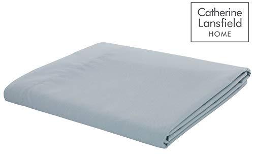 Linens Limited Bettlaken - Baumwoll-Polyester-Perkal, Fadenzahl 180 -Zartgrün- für 135 x 190cm