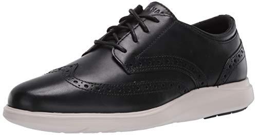 Cole Haan Herren Grand Plus Essex Wedge Wing Ox Sneaker, Schwarz (Black Black), 43.5 EU