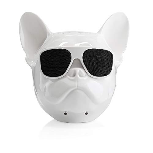Bulldog Bluetooth Speaker (White)