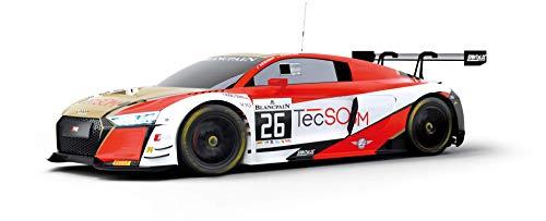 Scalextric- Audi R8 LMS GT3 Coche Pista, Color rojo (Scale Competiton Xtreme 1)