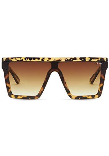 Quay Australia X JLO Hindsight Sunglasses in Tortoise Brown