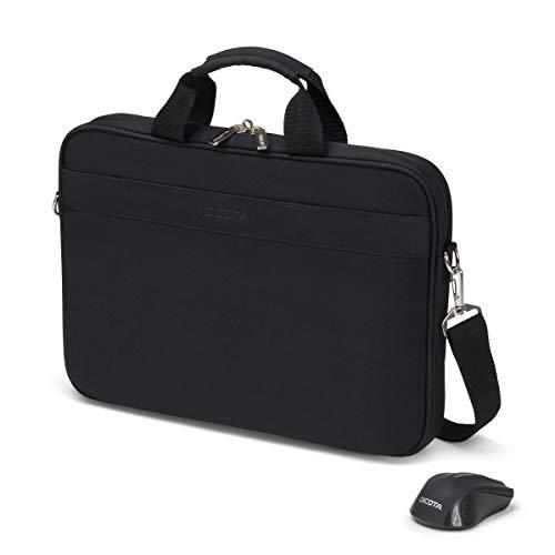 Dicota D31685 Notebook Bag 39.6 cm (15.6') Briefcase Black – Case (Briefcase, 39.6 cm (15.6'), Shoulder Strap, 49 g, Black)