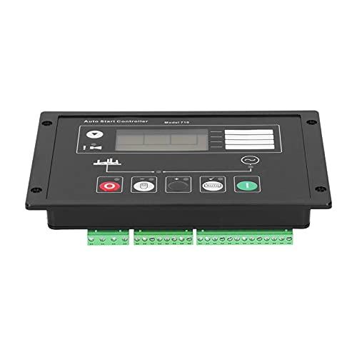 Controlador de generador, panel de control de arranque automático del generador DC8 ~ 36V para electricista para equipos mecánicos para accesorios industriales