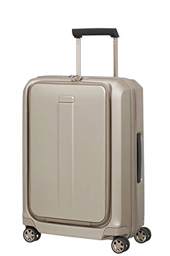 Samsonite Prodigy Spinner 55 Expandable - 2,9 kg, Cabin Luggage, 55 cm, 47 L, Ivory Gold