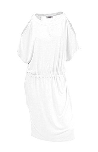 Heine Strandkleid Weiß Größe 40