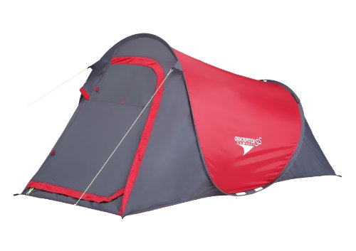 Gelert Zelte Quickpitch SS Compact, mars red / charcoal, TEN366H04