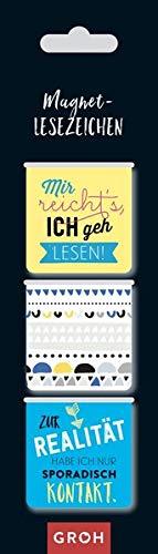 Magnetlesezeichen Mir reicht's, ich geh lesen!: magnetisches Lesezeichen