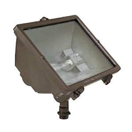 Hubbell Outdoor Lighting Q-500-B Q-Series Quartz Floodlight, Bronze