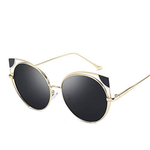 DURIAN MANGO Frauen Sonnenbrille Metall Hohl Mode Anti-UV-Persönlichkeit Cat Eye Sonnenbrille,style6