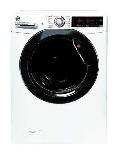 Hoover H-WASH 300 PLUS H3DSQ499TAMBE-84 - Secador de lavado (9 kg, secado 9 kg, funcionamiento inteligente con tecnología NFC, función de vapor ActiveSteam)