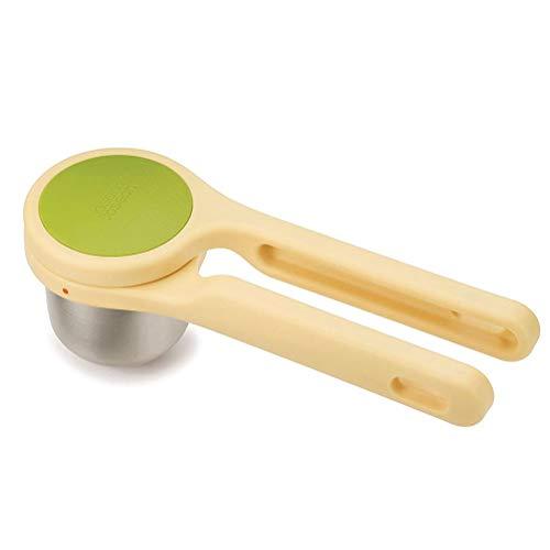 YFGQBCP Manual Exprimidor Exprimidor de jugos de Naranja limón y Otras Frutas sin Casco, Amarillo y Verde