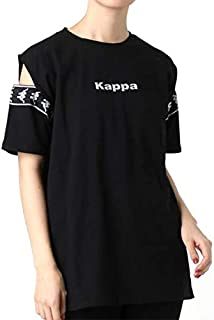 EMODA エモダ 【EMODA×KAPPA】カッティングテープTシャツ 041922731601 BLACK(ブラック) FREE