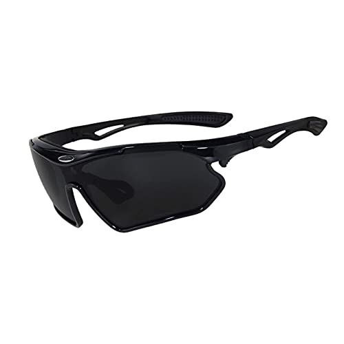 HGJINFANF Gafas de Gafas polarizadas Deportivas de Ciclismo, Gafas de Sol for Bicicletas de montaña de Bicicletas, Gafas de Sol Deportivas de Golf
