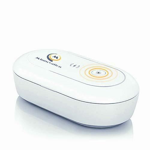 M INNOVATION Fast UV Cell Phone Sanitizer Portable Wireless...