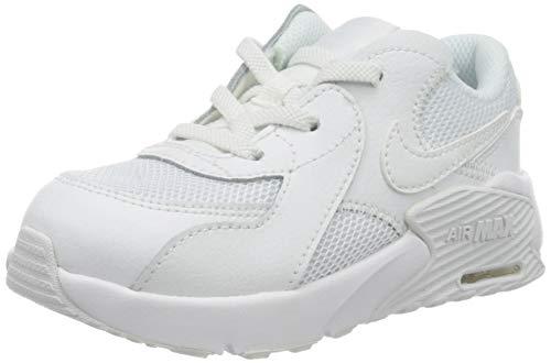 Nike Air MAX Excee (TD), Zapatillas Unisex niños, Blanco/Negro-Blanco, 25 EU