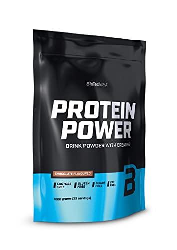 BiotechUSA Protein Power Vaniglia 1000 g di borsa