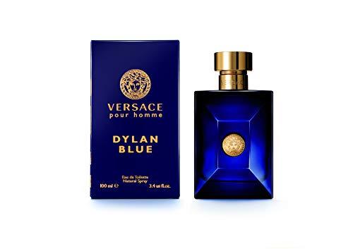 Price comparison product image VERSACE Pour Homme Sealed Dylan Blue Eau de Toilette,  3.4 Ounce