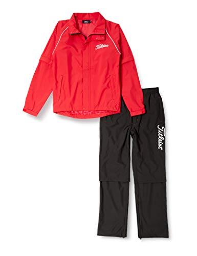 (タイトリスト)titleist apparel レインウェアTSMR1592 TSMR1592 RD レッド M