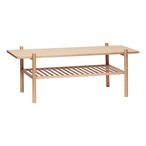 Hübsch_Interior Tisch mit Ablage Eiche Natur AUSLAUFARTIKEL