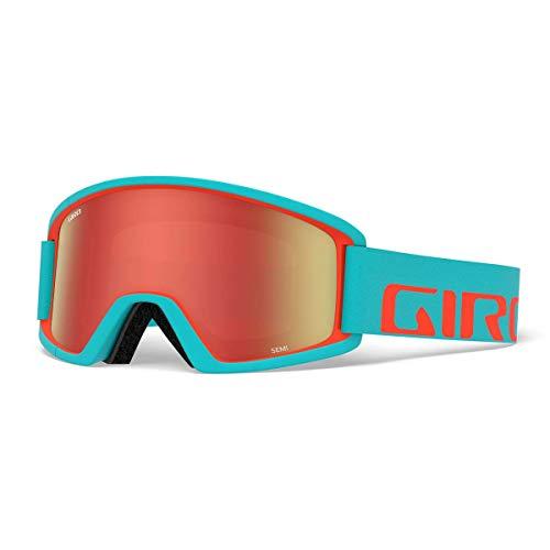 Giro Rotation Semi Masques de Ski/Snow, Unisexe Adulte Taille Unique Bleu/Vermillion (Glacier/Vermillion Apex)