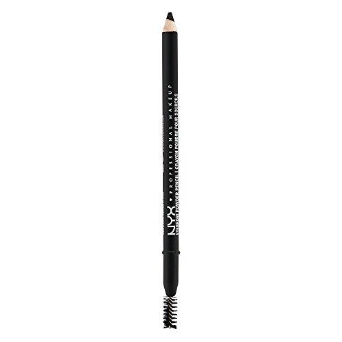 NYX PROFESSIONAL MAKEUP Eyebrow Powder Pencil, Black
