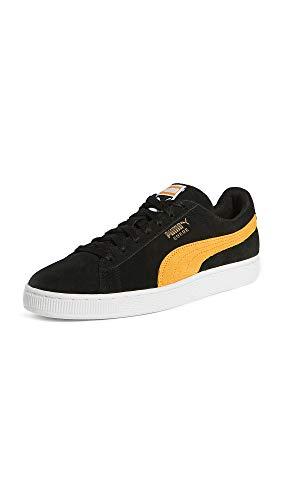 Puma Herren Select Suede Classic Plus Sneakers, (Puma Schwarz/Golden Rod), 4.5 D (M)