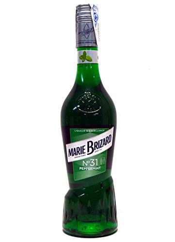 Marie Brizard Licor Peppermint - Paquete de 3 x 700 ml - Total: 2100 ml