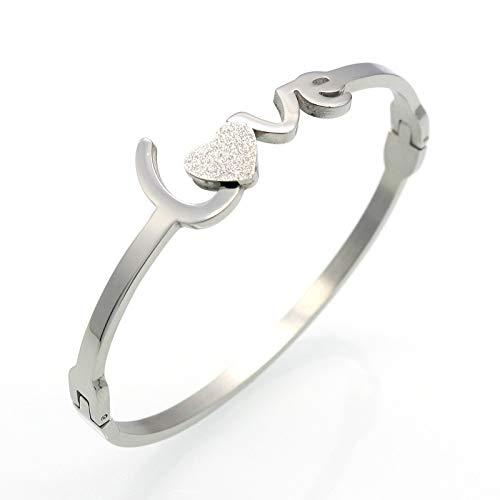BRTTHYE gouden bedelarmband vrouwelijke hartvormige armband sieraden