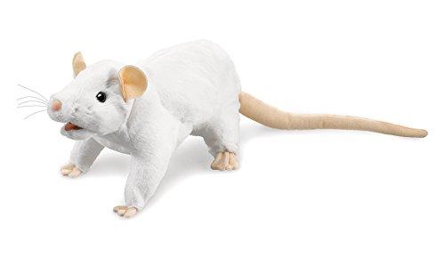 Folkmanis Rat (Blanc)