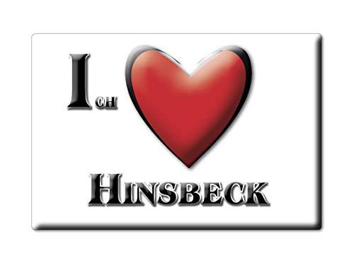 Enjoymagnets HINSBECK (NW) Souvenir Deutschland Nordrhein Westfalen Fridge Magnet KÜHLSCHRANK Magnet ICH Liebe I Love
