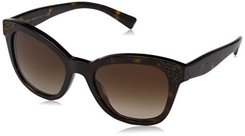 Valentino Damen 0VA4005 502213 52 Sonnenbrille, Braun (Havana/Gradientbrown)