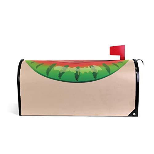 funnyy Witzige Wassermelone Lippenstift Lippenstift Sexy Kiss Magnetische Briefkasten-Abdeckung...