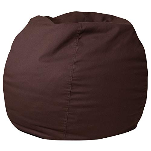 Flash Furniture Small Solid Brown Kids Bean Bag Chair Bags Bean Décor Dining Features Furniture Home Kids Kitchen Storage
