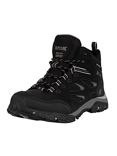 Regatta Men's Holcombe Iep Mid High Rise Hiking Boots, Black...