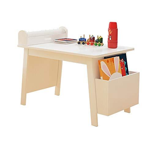 SMLZV Kinder-Tisch und Stuhl Set, Kunst for Kinder Tabelle W/Papierrollenhalter, Aufbewahrungsbehälter, Glatte Oberfläche Aktivität Tisch, Malerei Tisch, for Home School Spielzimmer