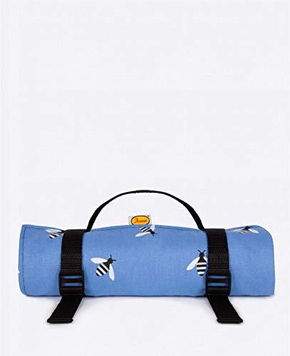 Anorak Buzzy Bee Picknickdecke, maschinenwaschbar, Blau