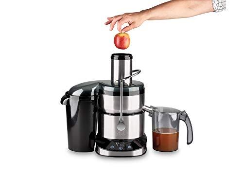Solis Hochgeschwindigkeits-Entsafter mit Digitalanzeige, Große Einfüllöffnung, Für Saft, Smoothies oder Desserts, Hartes und weiches Obst/Gemüse, Juice Master Digital (Typ 8449)