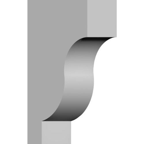 Ekena Millwork COR02X06X10TR 2 7/8-Inch W x 5 7/8-Inch D x 10-Inch H Traditional Corbel