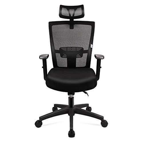mfavour Bürostuhl, Ergonomisch Schreibtischstuhl Computer Stuhl drehstuhl mit...