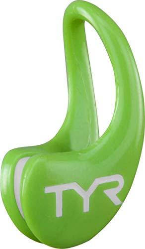 TYR LERGO 339, Tappa Naso da Nuoto Unisex – Adulto, Electric Lime, M