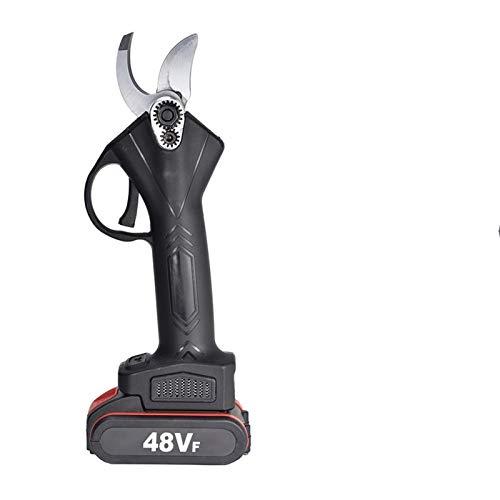 ZHANGHUIQIN Tijeras de podar jardinería Ramas 48V sin Cable eléctrico Tijeras de...