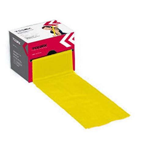 Toorx Fascia elastica latex-free in rotolo 25 m. x 15 cm. (Giallo - Light 0,35mm)