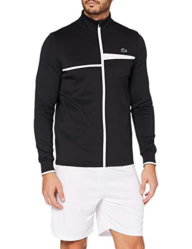 Lacoste Sport Herren Sh2087 Pullover, Noir/Blanc, 5