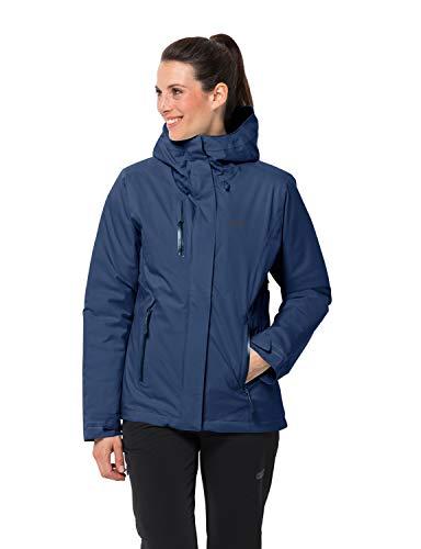 Jack Wolfskin Damen Troposphere Jacket W Wetterschutzjacke, porcelain blue, XL